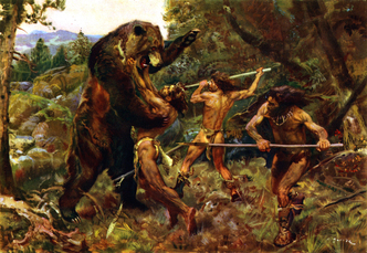 Hunting the cave bear