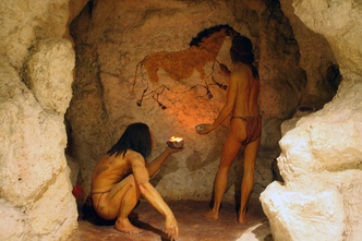 Cave artists 1